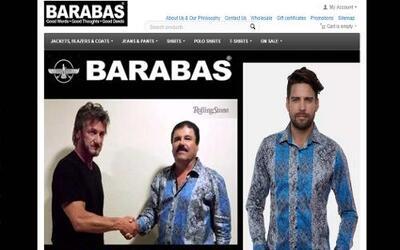 """La foto de """"El Chapo"""" dándole la mano al actor Sean Penn fue subida al s..."""