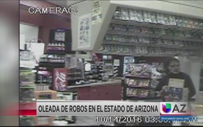 Oleada de robos en Arizona