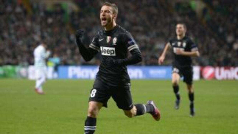 Marchisio convirtió el segundo tanto de los 'Bianconeri'.