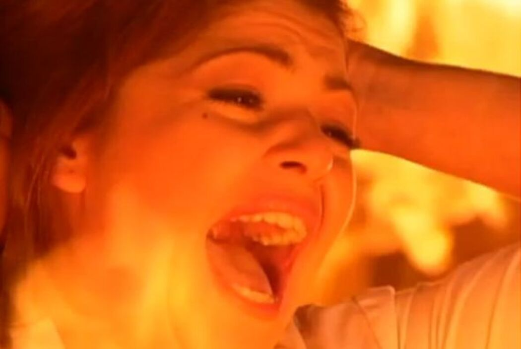 Como era su costumbre, gritó y gritó pero el fuego terminó con su vida....