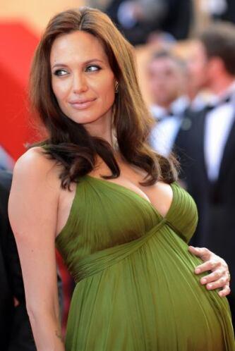 Angelina Jolie ha estado embarazada en dos ocasiones y siempre ha hecho...