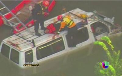 7 hombres a punto de morir ahogados