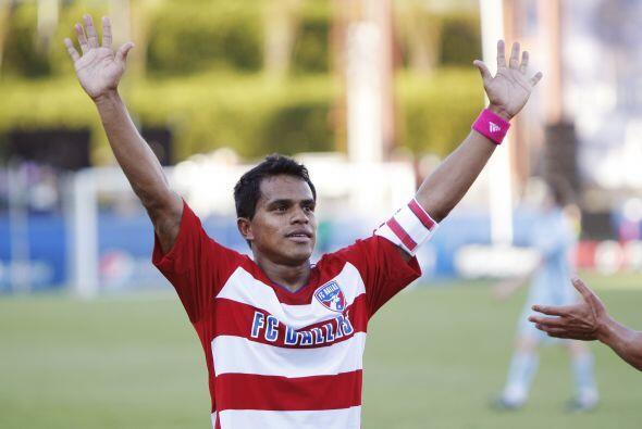 David Ferreira recaló en el FC Dallas en el año 2009, y en su primera te...