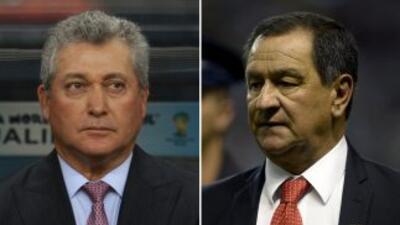 Víctor Manuel Vucetich y Enrique Meza.