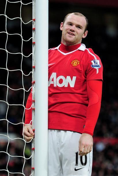 Wayne Rooney no estuvo fino en la definición y se quedó con las ganas de...