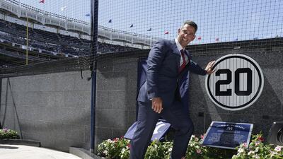 Jorge Posada en el Yankee Stadium