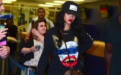 Rihanna se enoja con un fan que quería una foto suya