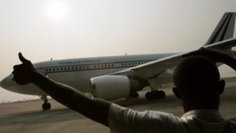 Un avión similar al de la imagen se estrelló en El Congo a causa de una...