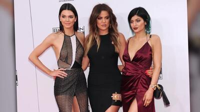 Khloé Kardashian, Kendall Jenner y Kylie Jenner presumen mucha pierna