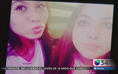 Luto por muerte de dos jovencitas hispanas