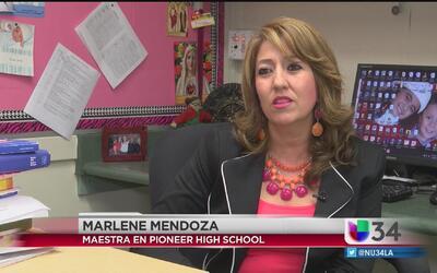Maestra latina les da alas a sus estudiantes