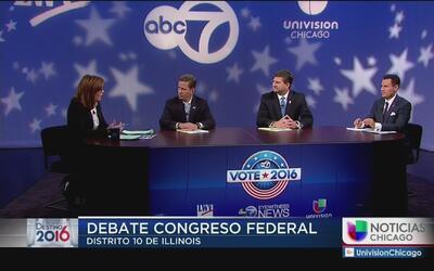 Presentación de los candidatos al distrito 10 de Illinois