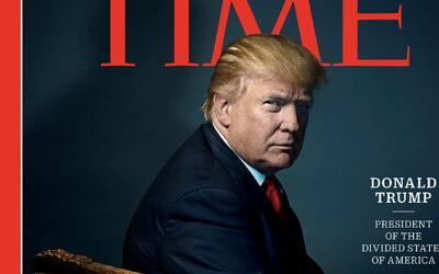 "Revista Time elige a Donald Trump como ""Persona del Año"""