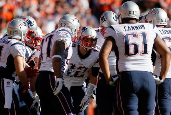 Los New England Patriots están en  el octavo sitio con $1.8 billones.