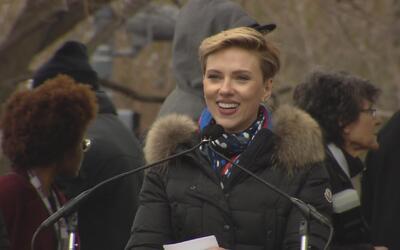 "Scarlett Johansson a Donald Trump: ""Mi hija no podrá tomar las mismas de..."
