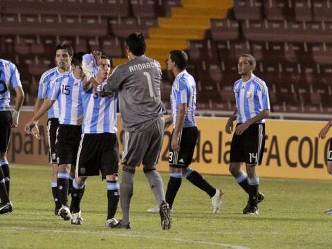 Los juveniles argentinos volvieron a sonreír en el Sub 20 luego d...