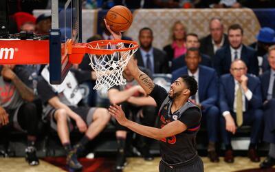 Anthony Davis, MVP del Partido de las Eztrellas de la NBA 2017.