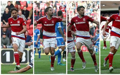 Ramírez ha participado en casi todos los goles del Middlesbrough.