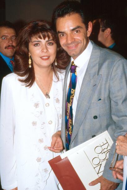 Victoria Ruffo y Eugenio Derbéz contrajeron nupcias en 1992. Sin embargo...