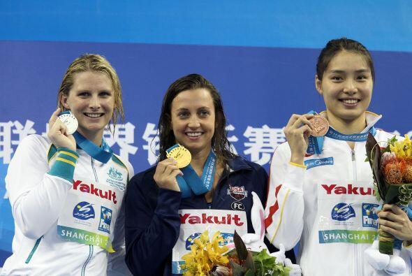 Soni terminó con un crono de 1:05,05; la plata para la australiana Leise...