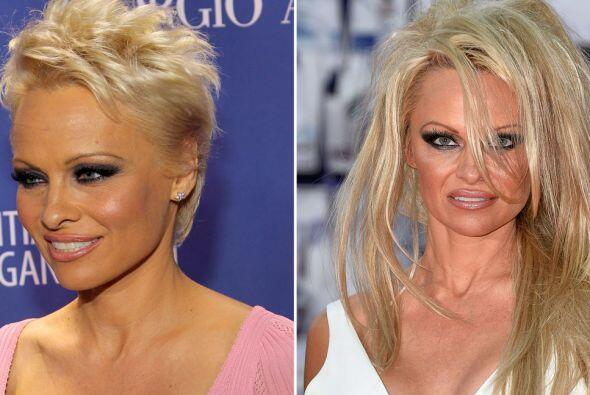 Ya no sabemos ni qué es lo que le sienta bien a Pamela Anderson. La verd...