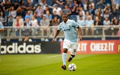 Jimmy Medranda, jugador de Sporting Kansas City