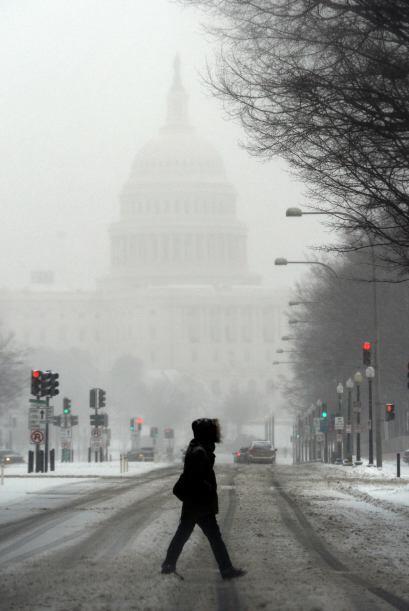 En anticipación a su arribo, el gobierno federal en Washington cerró sus...