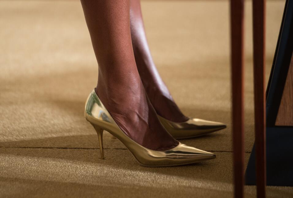Michelle Obama y su optimismo hecho vestido   GettyImages-499616910.jpg