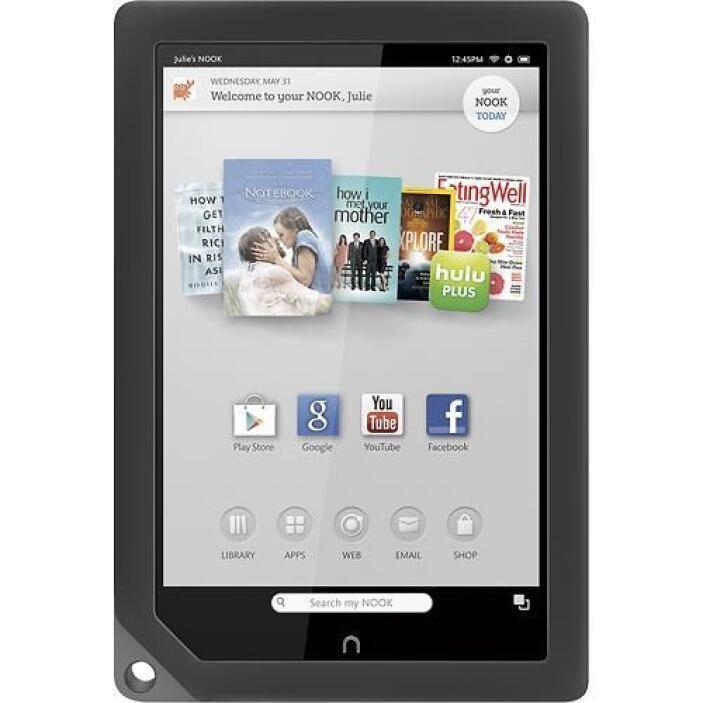 NOOK HD: funcionalidad, diseño práctico. La tableta Nook de 9 pulgadas,...