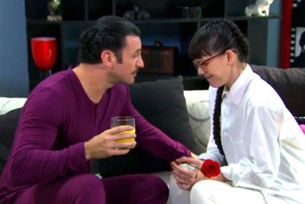 Fernando sí que le vio lo bonito a esta fea de telenovela.