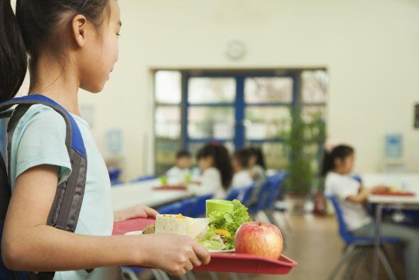 Si va a comprar el almuerzo en la cafetería de la escuela, averigua cuán...
