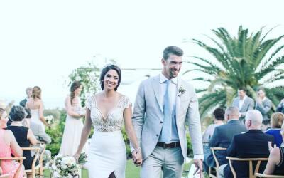 ¡Michael Phelps se casó!