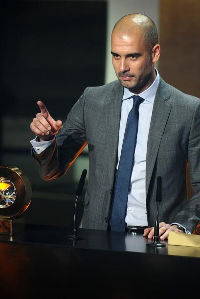 El estratega del Barcelona fue un tanto elocuete y agradecido con su club.