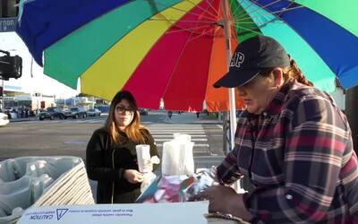 La despenalización de la venta ambulante en Los Ángeles da un respiro a...