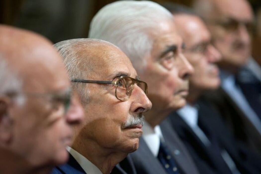 Al término de las audiciencias, Jorge Videla dijo 'No fue una guerra suc...