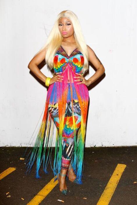 Nicki Minaj es una de las candidatas a ser presa en la cárcel de la moda...