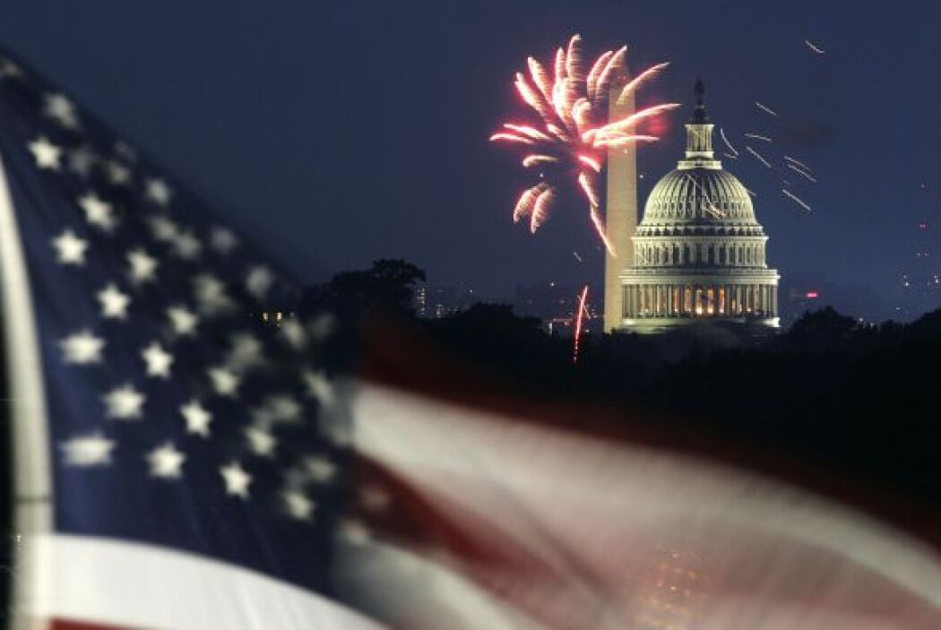Washington DC es un lugar espectacular para celebrar el 4 de julio!
