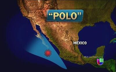 El huracán Polo amenaza las costas del sur de México