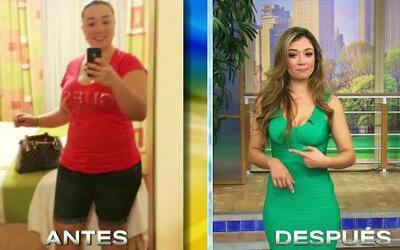 Ella bajó 60 libras gracias a la dieta del semáforo