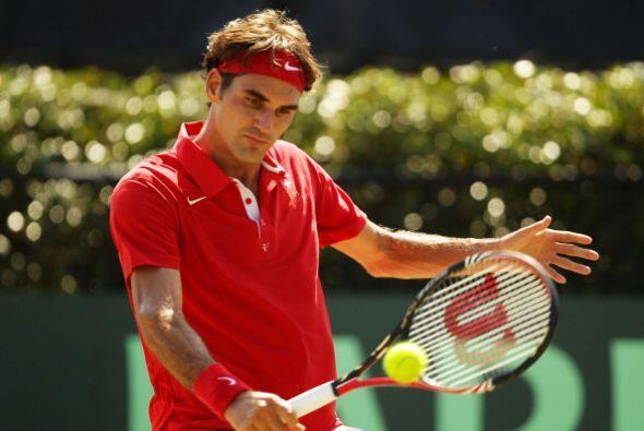 En el Masters de Monte Carlo, Roger Federer perdió ane el noveno...