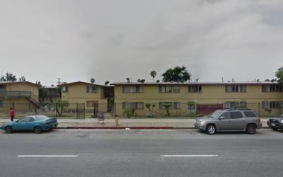 Apartamentos en North Hollywood donde ocurrió la muerte de la ni&...