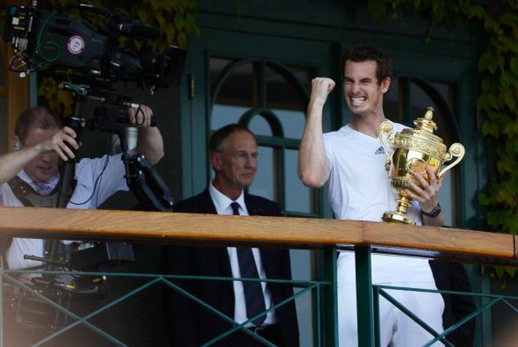 Por fin Murray conquistó Wimbledon.