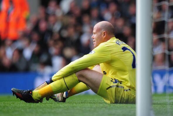 Un gol de Cahill bajó rápido el ánimo de los 'Spurs'.