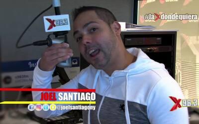 Joel Santiago junto a Gadiel