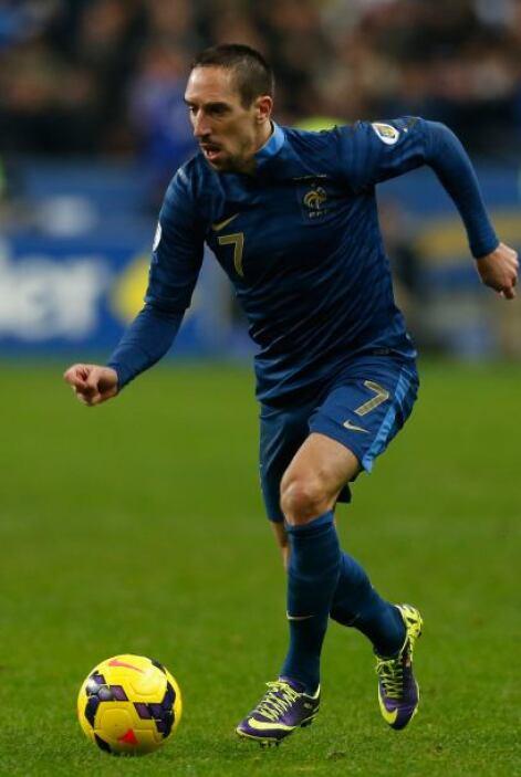 Frank Ribery:El creativo se ha caracterizado por su ingenio pero también...