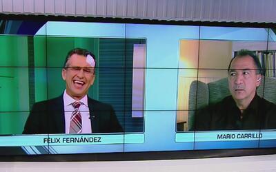 """Mario Carrillo: """"Félix Fernández era uno de los mejores porteros que ten..."""