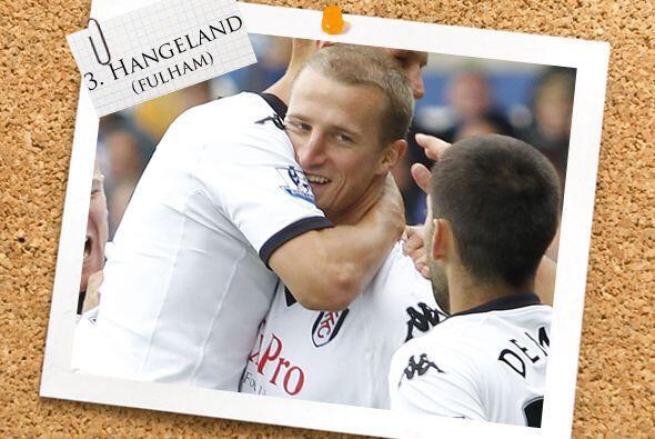 Del Fulham, contamos con el zaguero Brede Hangeland.