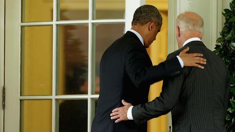 Los momentos que definieron el 'bromance' de Barack Obama y Joe Biden