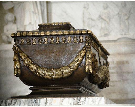 El sarcófago con los restos del Libertador, Simón Bolívar.