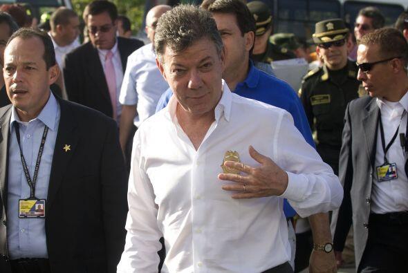 El presidente de Colombia, Juan Manuel Santos, confesó este sábado haber...